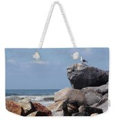 King Of The Rocks Weekender Tote Bag