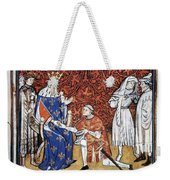 King Philip Iv Of France Weekender Tote Bag