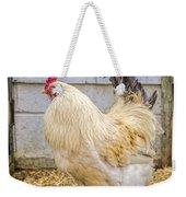 King Rooseter Weekender Tote Bag
