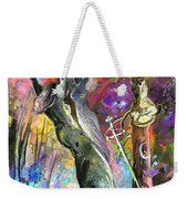 King Solomon And The Two Mothers Weekender Tote Bag