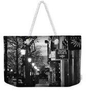 King Street At Night - Old Town Alexandria Weekender Tote Bag