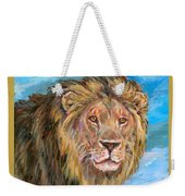 Kingdom Of The Lion Weekender Tote Bag