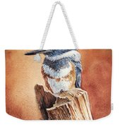 Kingfisher I Weekender Tote Bag