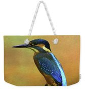 Kingfisher Perch Weekender Tote Bag