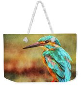 Kingfisher's Perch 2 Weekender Tote Bag