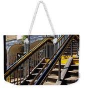 Kings Hwy Subway Station In Brooklyn Weekender Tote Bag