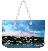 King's Wharf Bermuda Harbor Sunrise Weekender Tote Bag