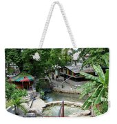 Kingston Jamaica Plaza Weekender Tote Bag