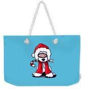 Kiniart Snorkel Westie Santa Weekender Tote Bag
