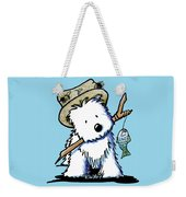 Kiniart Westie Fisherman Weekender Tote Bag