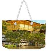Kinkakuji Golden Pavilion Kyoto Weekender Tote Bag