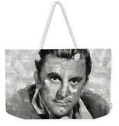 Kirk Douglas Hollywood Actor Weekender Tote Bag