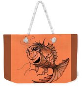 Kishi Fish Weekender Tote Bag