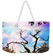 Kiss Of Spring Hues Weekender Tote Bag