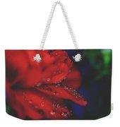 Kisses In The Rain Weekender Tote Bag