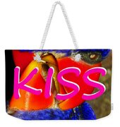 Kissing Birds Spca Weekender Tote Bag