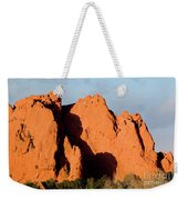 Kissing Camels Formation At Garden Of The Gods Weekender Tote Bag