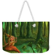 Kissing Frogs Weekender Tote Bag by Andy Catling