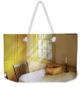 Kitchen - The Empty Basket Weekender Tote Bag by Mike Savad