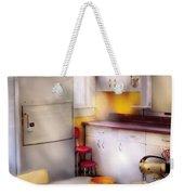 Kitchen - A 1960's Kitchen  Weekender Tote Bag