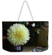 Kitchen Dahlia Weekender Tote Bag
