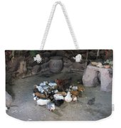 Kitchen Livestock 2 Weekender Tote Bag