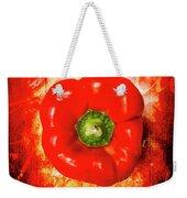 Kitchen Red Pepper Art Weekender Tote Bag