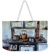 Kitchen - The Vintage Stove Weekender Tote Bag