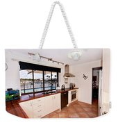 Kitchen With A River View Weekender Tote Bag