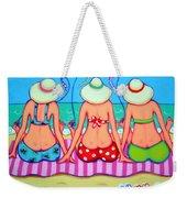 Kite Flying 101 - Girlfriends On Beach Weekender Tote Bag