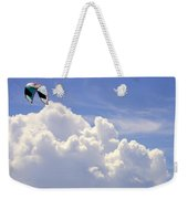 Kite In The Clouds Obx Buxton North Carolina Weekender Tote Bag