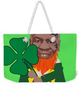 Kith Me I'm Irith Funny Novelty Mike Tyson Inspired Design For St Patrick's Day Weekender Tote Bag
