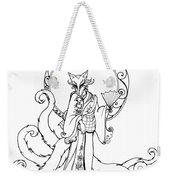 Kitsune Lady Weekender Tote Bag