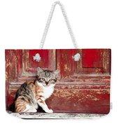 Kitten By Red Door Weekender Tote Bag
