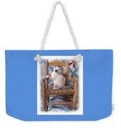 Kitten In The Rocker Weekender Tote Bag