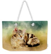Kitten - Painting Weekender Tote Bag