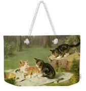 Kittens Playing Weekender Tote Bag