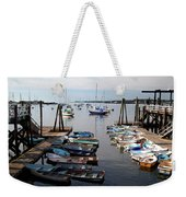 Kittery Point Fishing Boats Weekender Tote Bag
