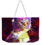 Kitty Cat Kitten Pet Animal Cute  Weekender Tote Bag