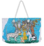 Kitty Confusion Weekender Tote Bag