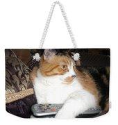 Kitty Control Weekender Tote Bag