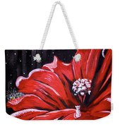 Kitty Flower Weekender Tote Bag