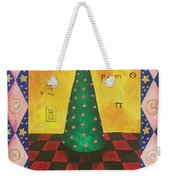 Kitty Has A Bright Idea Weekender Tote Bag