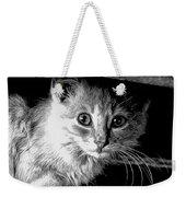 Kitty In Black White Weekender Tote Bag