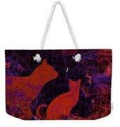 Kitty Kitty Weekender Tote Bag