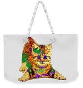 Kitty Love. Pet Series Weekender Tote Bag