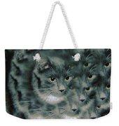 Kitty Portrait  Weekender Tote Bag