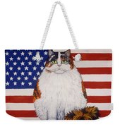 Kitty Ross Weekender Tote Bag by Linda Mears
