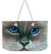 Kitty Starry Eyes Weekender Tote Bag
