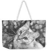 Kitty The Cat Weekender Tote Bag
